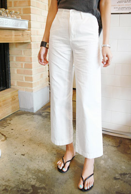High Cotton Wide Pants (7th stock)