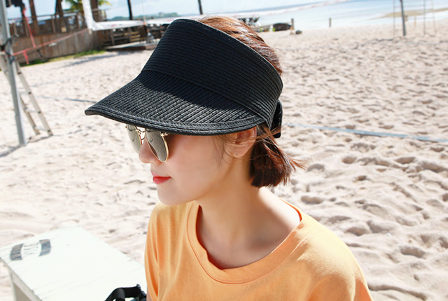 Simple straw suncap (3rd stock)