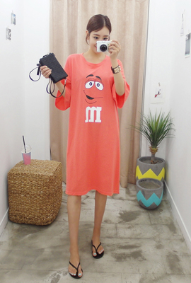 Alphabetical Knot Dress (5th stock)