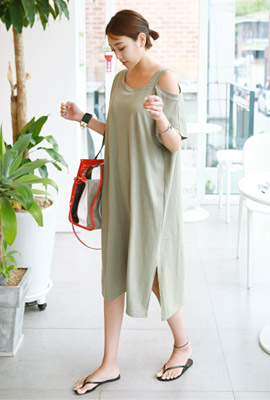 Shoulder One Strap One Piece (8th stock)