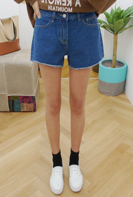 Overcoat denim shorts (3rd stock)