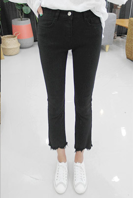 Slim V Cutting Date Pants (22th stock)