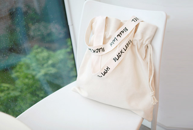 Lettering Recycled Eco Bag (5th stock)