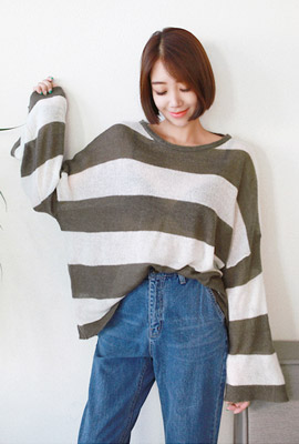 Wide Tiga Knit Tee