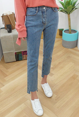 Square Cut Straight Jeans (9th stock)