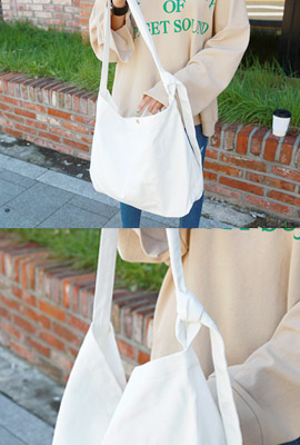 Cotton Knot Bag