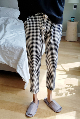 Gingham Check Bending Pants (18th stock)