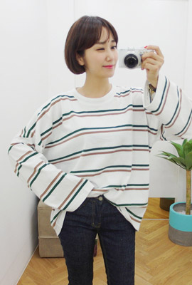 Double Striped Tee (5th stock)