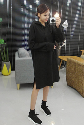 Simple hoodie boxing dress (26th stock)
