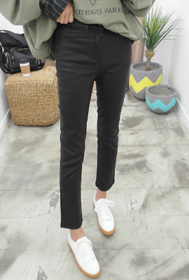 Slim Coated Daily Pants (3rd stock)