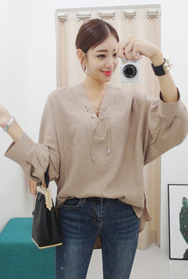 Eyelet blouse (4th stock)