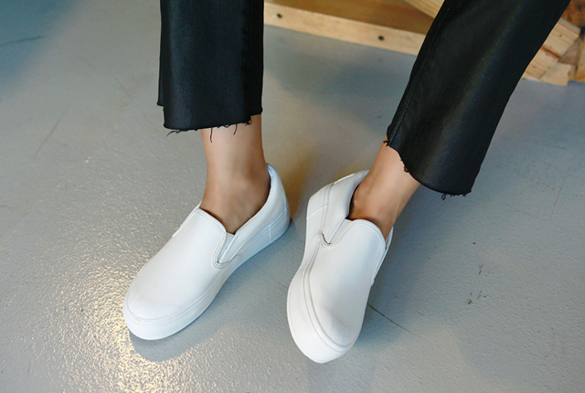 Real Leather Daily Slip-On (5th stock)