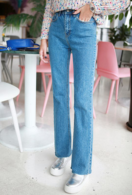 Light Cut Straight Jeans (2nd stock)