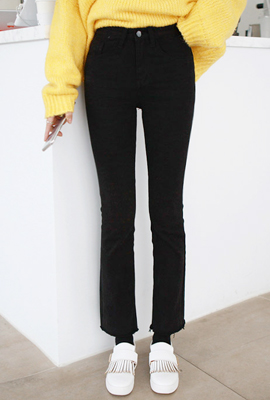 Pitch brushed boots cut pants (4th stock)