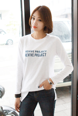 Revive Lettering Tee