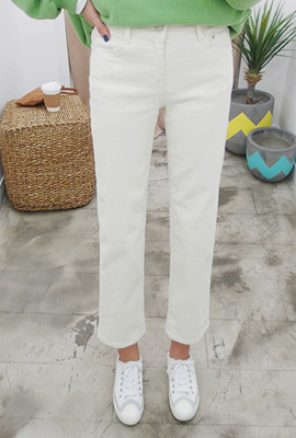 Simple brushed date pants (second stock)