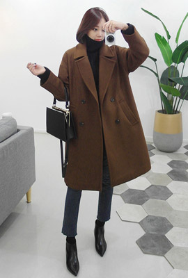 Daily Wool Double Coat (4th stock)