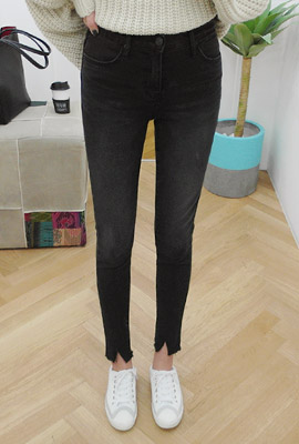 Full brushed skinny jeans