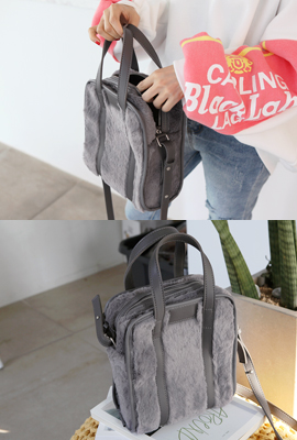 Soft Purline Shoulder Bag (3rd stock)