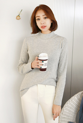 Half Paula basic knit tee (6th stock)