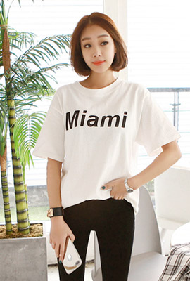 Miami short sleeve tee (second stock)