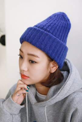 Soft color beanie