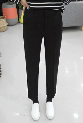 Modern brushed Slim Slacks (3rd stock)