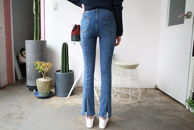 White-fronted semi-boot cut-off (14th stock)