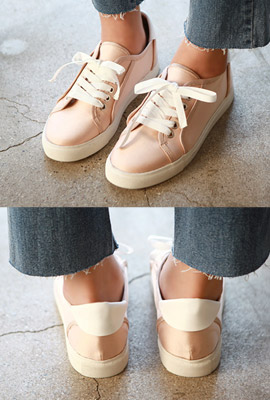 Slim Basic Sneakers
