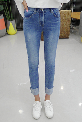 Wave roll-up slim day volition (3rd stock)