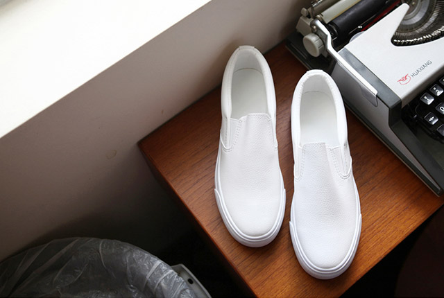 Basic Leather Slip-On