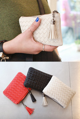 Mesh Weaving Mini Wallet (2nd stock)