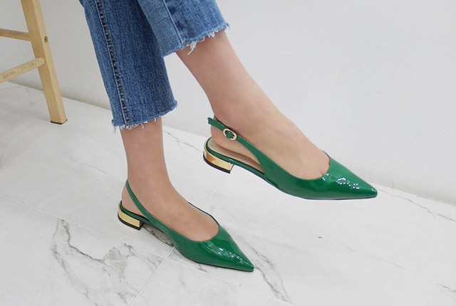 Gold Point Slingback Hill